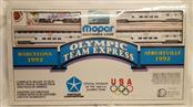 BACHMANN MOPAR OLYMPIC TEAM EXPRESS HO Electric Model Train Set